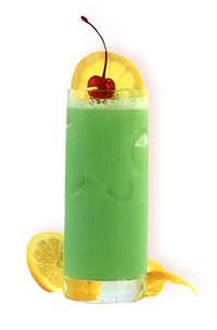 Зеленый яд, коктейль-лонгдринк.