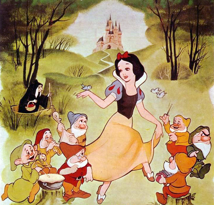 Walt disneys snow white and the seven dwarfs