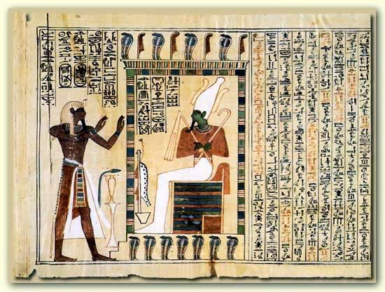 an examination of the information in the form of vignettes and hieroglyphics in the book of the dead Book of the dead explained the book of the then the dead person would live on in the form the style and nature of the vignettes used to illustrate a book of.