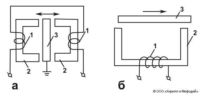 Индуктивный датчик (схема)