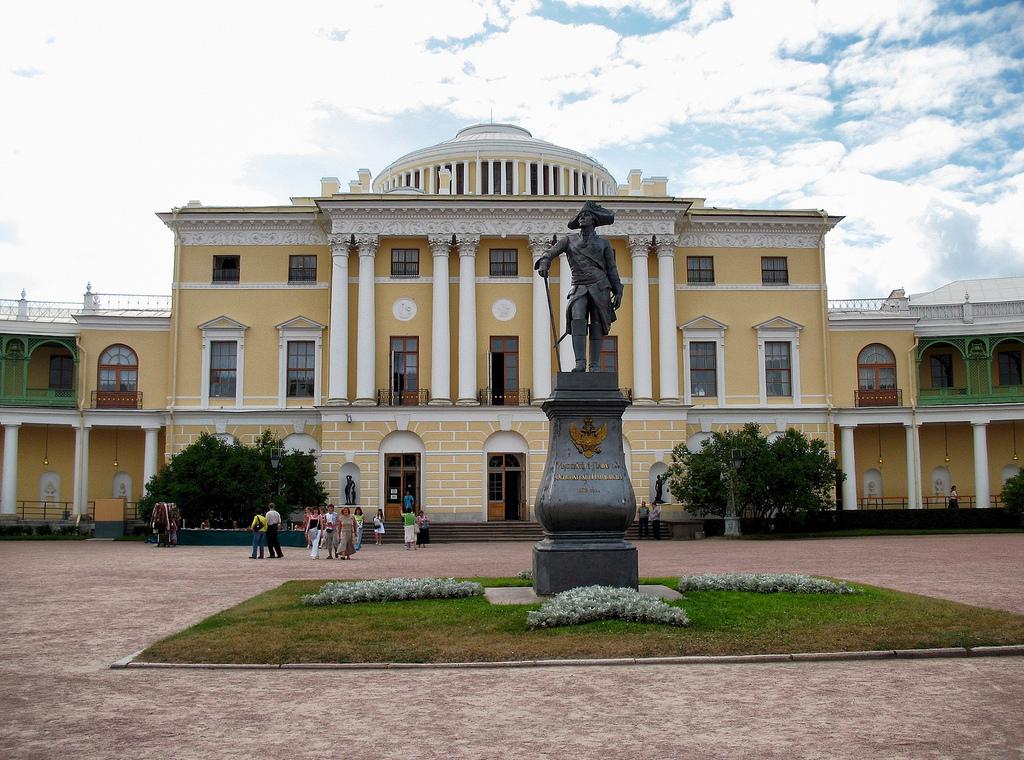 Павловск музей-заповедник - замки и усадьбы украины