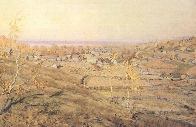 Сочинениеотзыв по картине ромадина село хмелевка