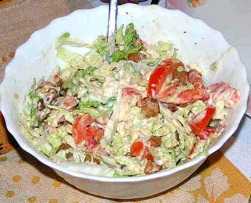 Как сделать салат из легкого