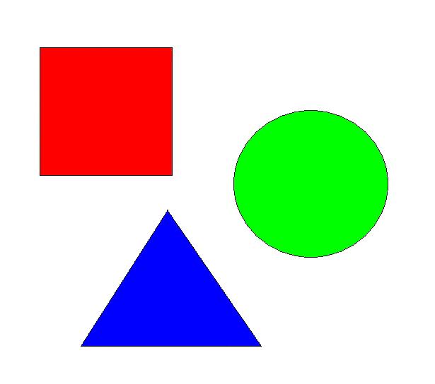 ходе кружки фигуры геометрические картинки комплекте каждому