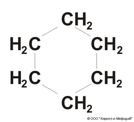 Молекулярная модель 2-конформации циклогексана