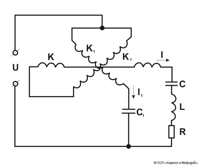 Схема электродинамического