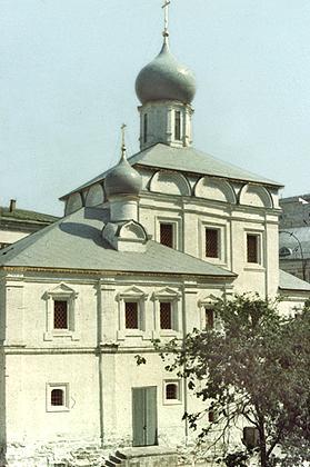 Зарядье (церковь Максима Блаженного)