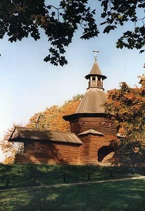 Коломенское (деревянная церковь)