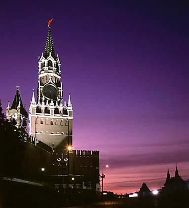 Кремль московский (Спасская башня)