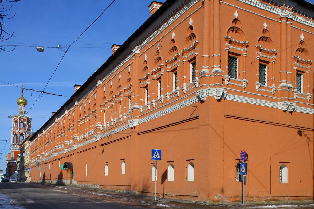 Москва (Высокопетровский монастырь, Нарышкинские палаты)