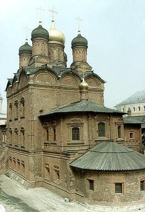 Москва (Знаменский Монастырь, собор)