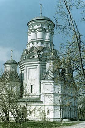 Москва (Коломенское, церковь в селе Дьяково)