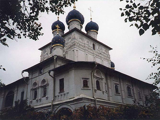 Москва (Коломенское. Церковь Казанской Богоматери)