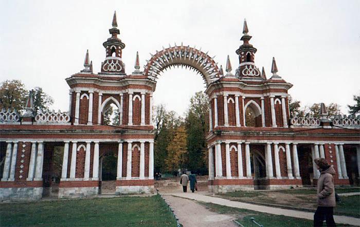 Москва (Фигурные (Виноградные) ворота)