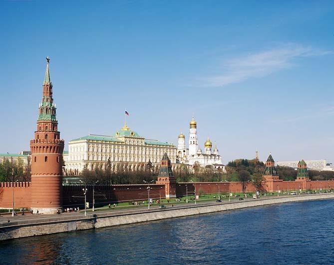 Москва (вид на Кремль)