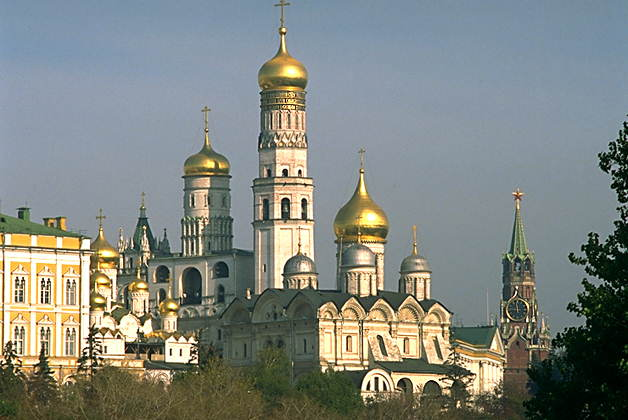 Москва (колокольня «Иван Великий» в Кремле)