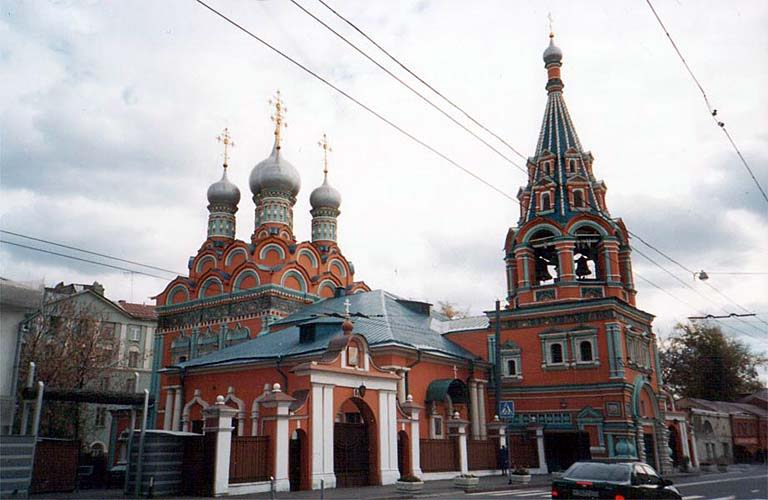 Москва (храм Святого Георгия Неоксарийского)