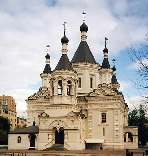 Москва (церковь Архангела Михаила на Девичьем поле)