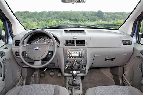 Ford Tourneo Connect (в салоне)