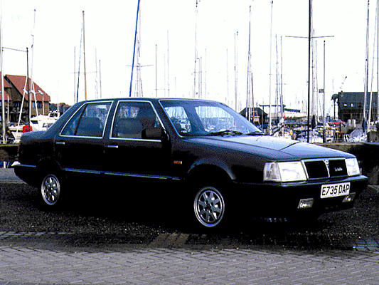Lancia Thema LX Turbo. 1987