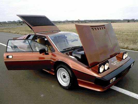Lotus Esprit Turbo. 1980
