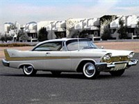 PLYMOUTH Fury. 1957
